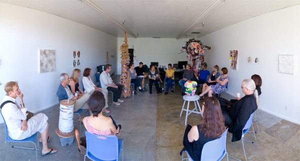 Small Loop Show talk at FOCA; Photo by Daniel Lara